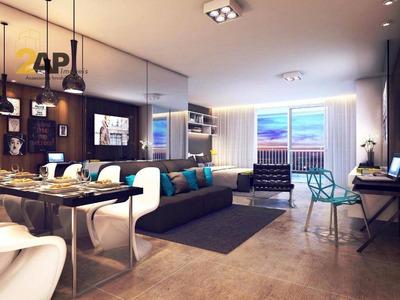 Apartamento Com 1 Dormitório À Venda, 42 M² Por R$ 331.913 - Consolação - São Paulo/sp - Ap0629
