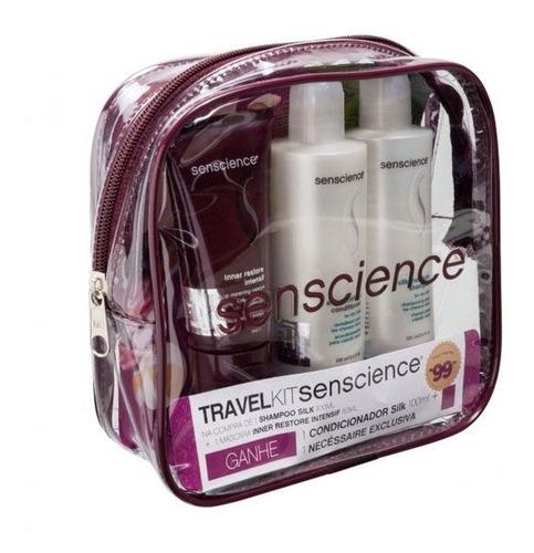 Senscience Kit Cabelos Secos Shampoo Condicionador Máscara