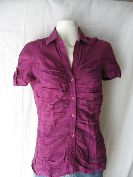 Camisa Mng Casual, Tale M India,100% Algodón