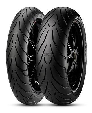 Combo Pirelli Pneu Angel Gt 120/70-17 + 180/55-17
