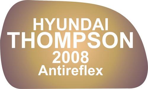 Vidrio Espejo Retrovisor Hyundai Thompson 2008 Antireflex Convexo