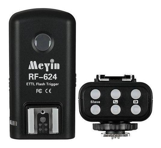 Radio Flash Par Meyin Rf624 Wireless E-ttl Para Canon