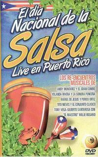 El Dia Nacional De La Salsa Live En Puerto Rico Dvd