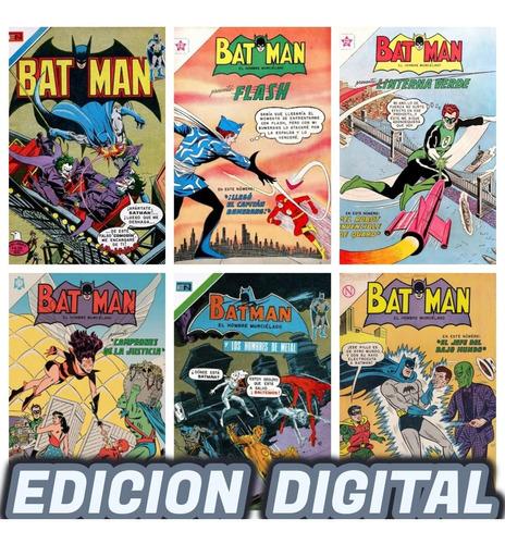 Imagen 1 de 4 de Batman Novaro Colección Cómic Digital 1300 Ejemplares