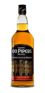 Whisky 100 Pipers X750ml