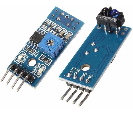 Sensor De Linha Segue Faixa Infravermelho Tcrt5000 Arduino