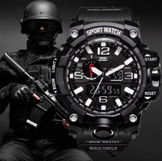 Relogio Sport Watch Militar À Prova D´água - Promoção