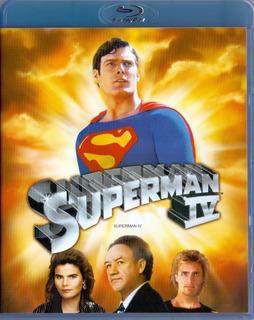 Superman 4 Cuatro Iv Christopher Reeve 1987 Pelicula Blu-ray