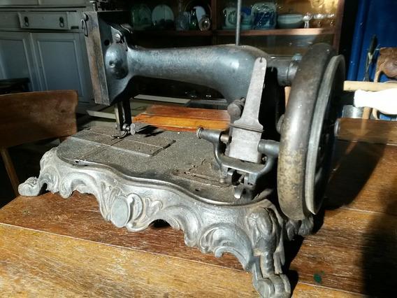 Máquina De Costura Antiga Funciona