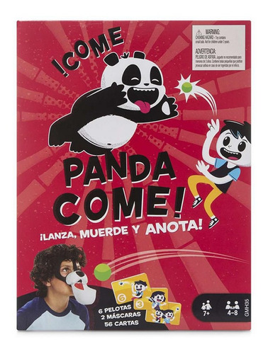 Juego De Mesa Mattel Come Panda Come