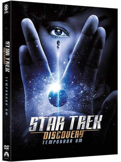 Star Trek Discovery 1ª Temporada - Box Com 4 Dvds - Novo