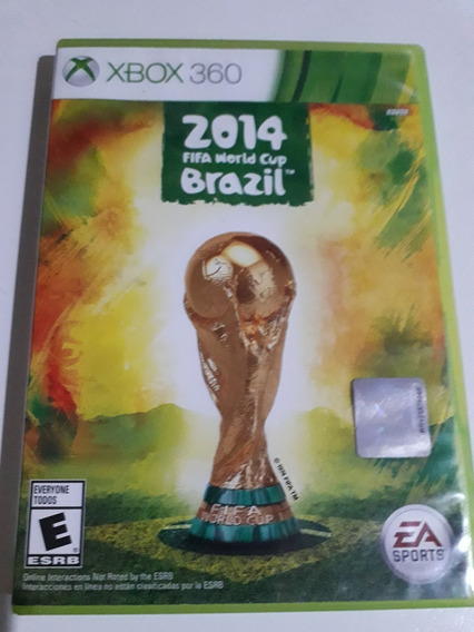 Fifa 2014 World Cup Brazil Xbox 360 Mídia Física