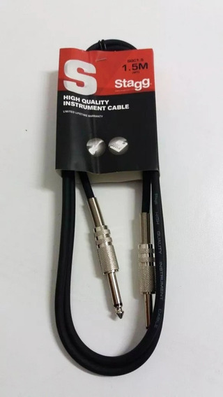 Cable Stagg Plug A Plug 1.5 Mts Sgc1.5