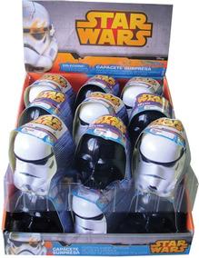 Doces Capacete Surpresa Star Wars 18 Unidades 3618 Disney