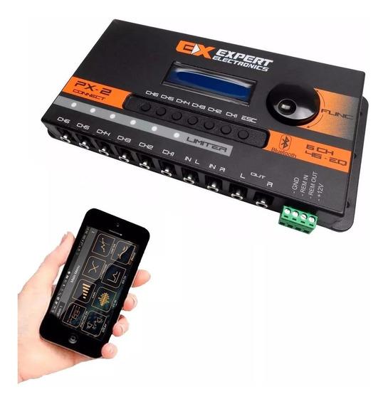 Crossover Processado Equalizado Expert Px2 Connect Bluetooth