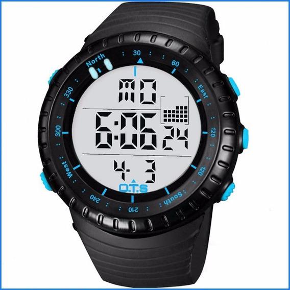 Reloj De Hombre Tactico Militar Acuatico Nuevo En Caja Ndprj