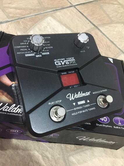 Pedaleira Waldman Guitarra Voice Gv 1fx
