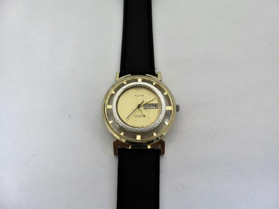 Reloj Alfa Automatico Squeleto