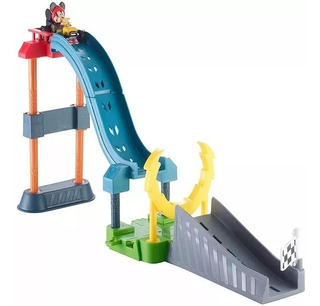 Mickey Mouse Salto Acrobatico Incluye Auto Fisher Price