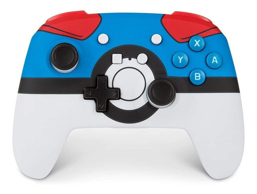 Control joystick inalámbrico PowerA Enhanced Wireless Controller for Switch great ball