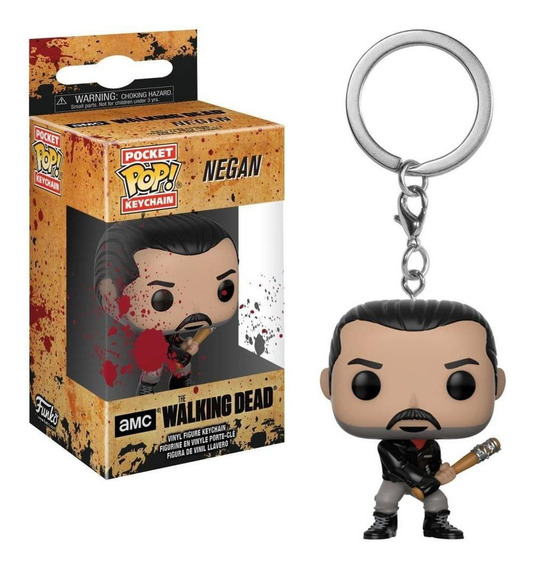 Funko Pop Llavero: The Walking Dead-negan