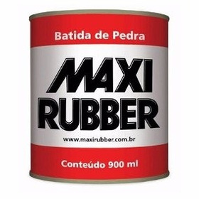 Batida De Pedra Branco 900ml Emborrachamento Maxi Rubber