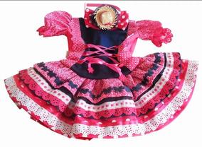 Vestido Bebê Festa Junina - Preço De Fábrica