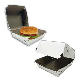 Cajas Para Hamburguesas Grandes Pack X 100 Fast Food