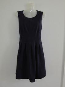 Vestido Juvenil Mujer, Azul Oscuro Marca Monteau Talla Xs