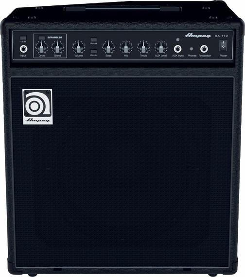 Amplificador De Bajo Ampeg Ba112 V2 75w Rd Music
