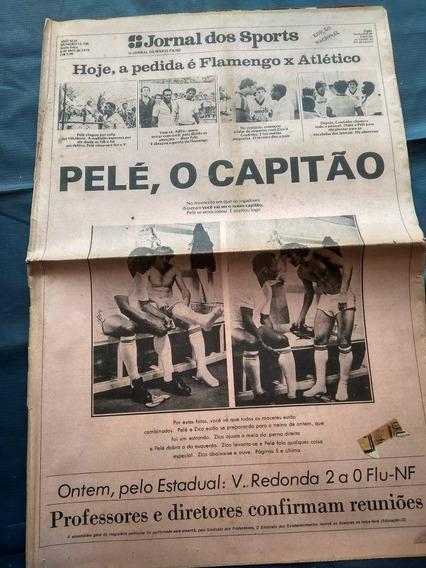 Jornal Dos Sports - Pelé No Flamengo - Abril De 1979