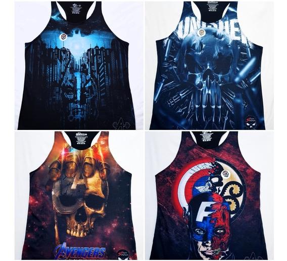 Camisetas Olimpicas Para Gym Tallas G/l (fabricantes