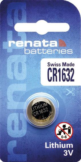 Bateria Pilha Lithium Renata Cr1632 - Caixa Com 10 Baterias