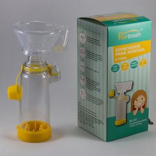 Aerocamara Chamber Pediatrica C/máscara Silicona Free Breath