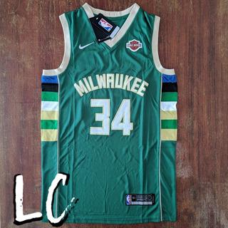 Regata Nba Milwaukee Bucks #34 Giannis. P/entrega