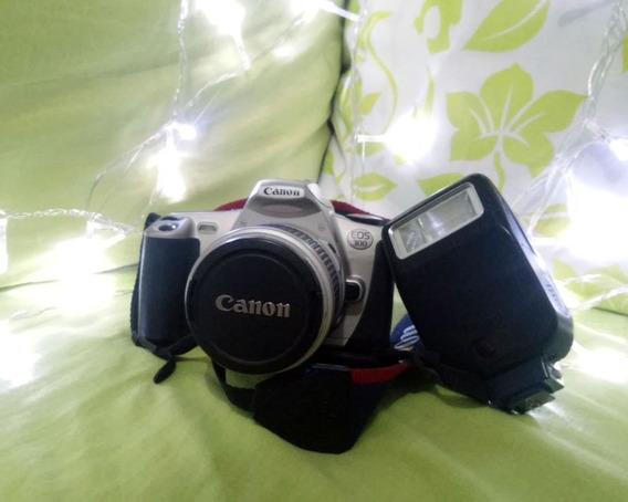 Câmera Profissional Canon Eos 300 Analógica