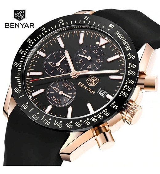 Relogio Benyar 5140 Original Waterproof