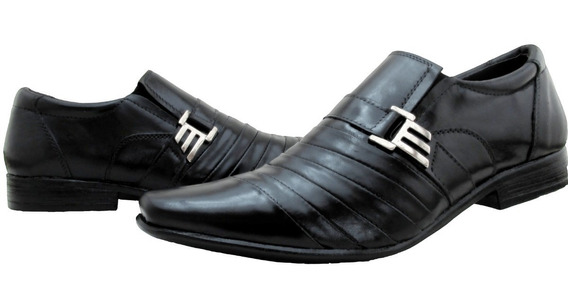 Sapato Masculino Estilo Calvest Em Couro Legitimo Promoção