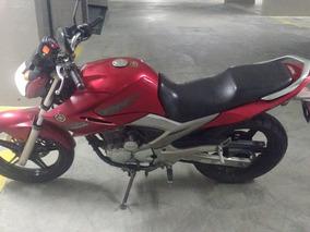 Fazer 250cc 2011 Vermelha. Aceita Cartao