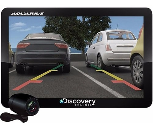 Gps Automotivo Aquarius 4.3 Tv Dig Câmera De Ré Nota Fiscal