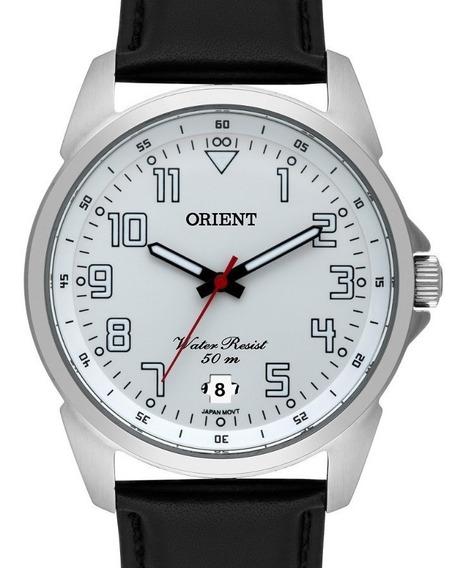 Relógio Orient Masculino Couro - Mbsc1031 S2px