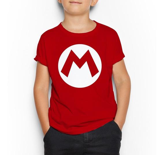 Playera Niño(a) Super Mario Bros - Luigi Peach