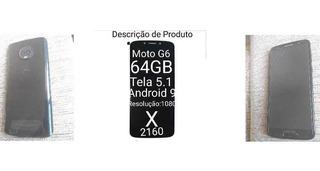 Celular Moto G6 Preto