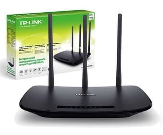 Router Wireless N 450mbps 3 Antenas