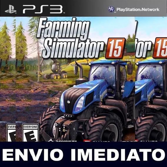 Farming Simulator 15 Ps3 Mídia Digital 400 Mb