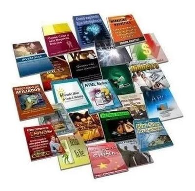 Infoprodutos Kit Com 500 + Direito De Revenda + Brindes