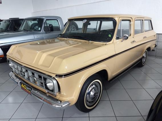 Gm Chevrolet Veraneio Deluxe 1979 6cc Gas Placa Preta