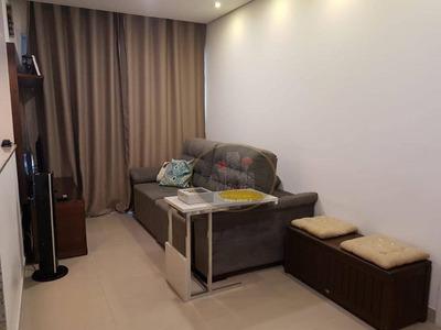 Apartamento Com 1 Dormitório À Venda E Locação, 49 M² Por R$ 249.100 - Vila Matias - Santos/sp - Ap4060