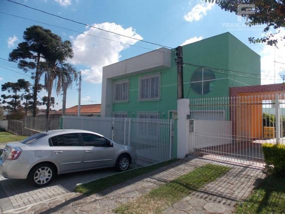 Sobrado Comercial Para Locação, Parolin, Curitiba. - So0072