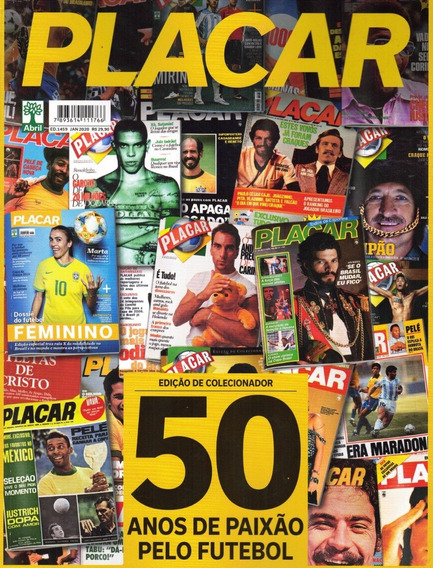 Placar Nº 1459 - 50 Anos De Paixao Pelo Futebol